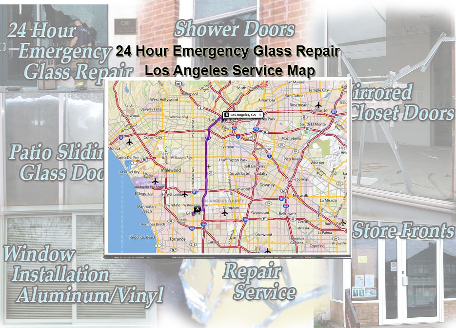 24 Hour Emergency Glass Repair In Los Angeles Glass Aluminum And